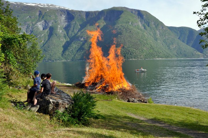 Midsummer Day in Norway
